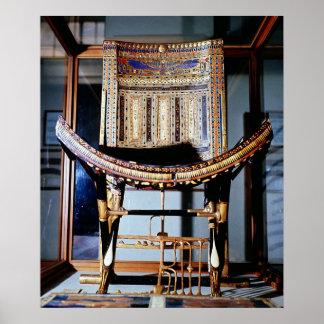 Silla eclesiástica, de la tumba de posters