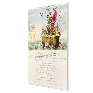 Silla huesuda de Elba, publicada por S. Knight Impresiones En Lienzo Estiradas