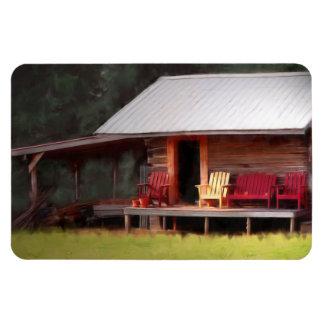 Sillas de Adirondack de la cabina del país Imán Flexible