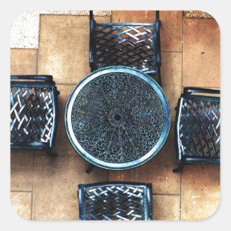 Sillas de jardín colcomanias cuadradases
