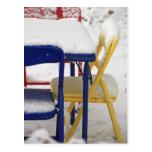 Sillas de la nieve postal