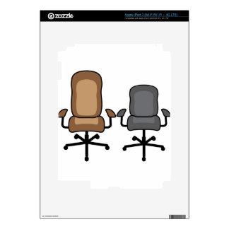 Sillas de la oficina iPad 3 skins