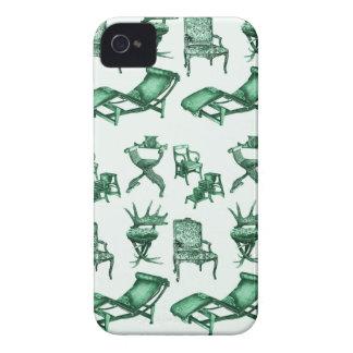 Sillas de la tinta Case-Mate iPhone 4 protectores