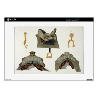 Sillas de montar y estímulos, placa 'de una histor portátil calcomanías