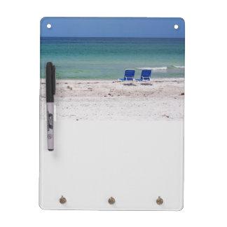 Sillas de playa tablero blanco
