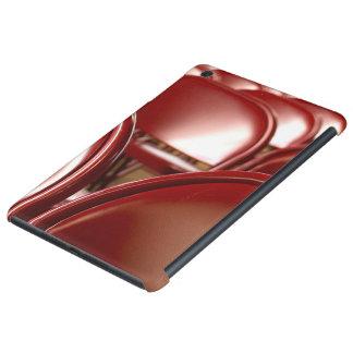 Sillas plegables rojas funda de iPad mini