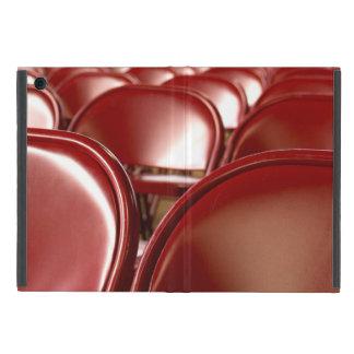 Sillas plegables rojas iPad mini carcasas