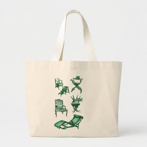 Sillas verdes bolsa