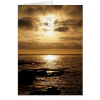 Sillhouette of the Sun Card