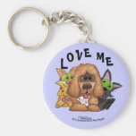 Silly and Tig with Sassie-Pet Adoption is LOVE Keychains