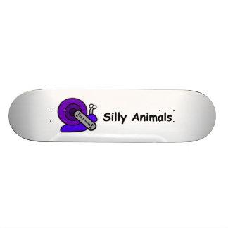 Silly Animal Skateboard: Snail Skateboard Decks