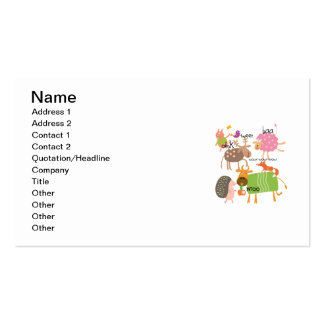 Silly Animals Business Card
