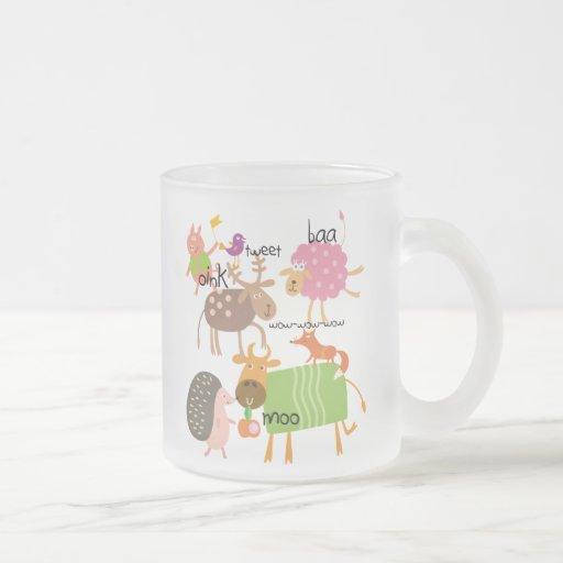 Silly Animals Coffee Mugs