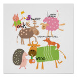 Silly Animals Posters