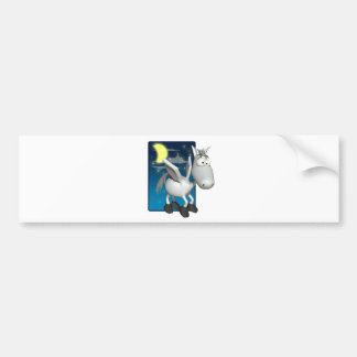 silly baby pegasus bumper stickers