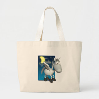 silly baby pegasus canvas bags