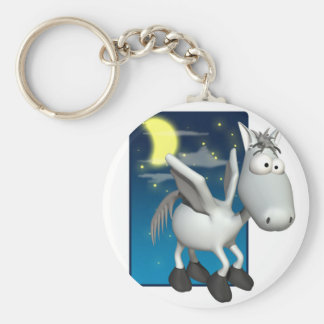 silly baby pegasus keychains
