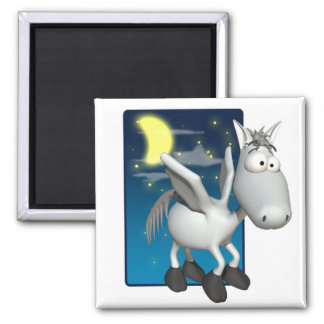 silly baby pegasus magnets