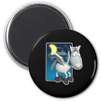 silly baby pegasus refrigerator magnet
