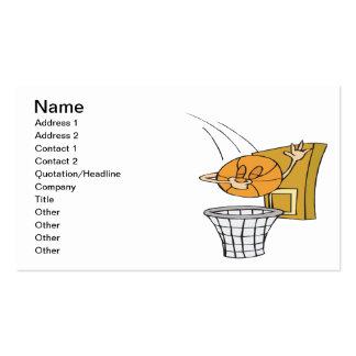 Silly Basketball Business Card