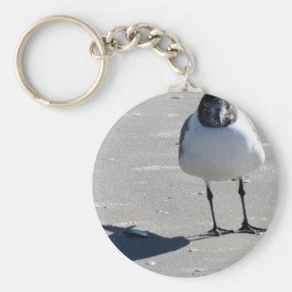 Silly Beach Bird Keychain