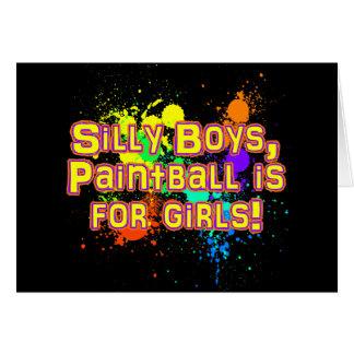 Silly Boys Card