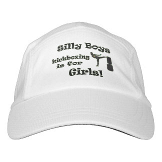 Silly Boys Kickboxing is for Girls! Headsweats Hat