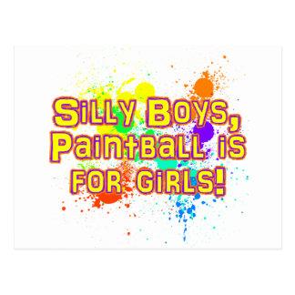 Silly Boys Postcard