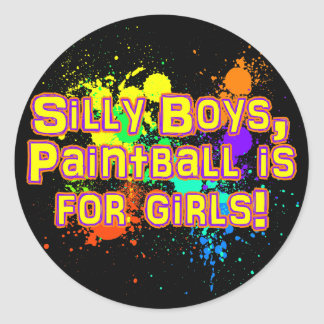 Silly Boys Stickers