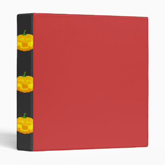 Silly Buck toothed Jack-O-'Lantern Binder
