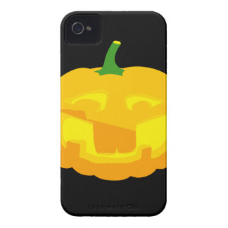 Silly Buck toothed Jack-O-'Lantern iPhone 4 Covers