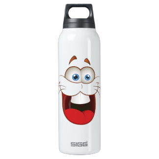 Silly Bunny Rabbit Face Thermos Bottle