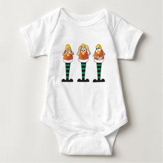 Silly Candy Corn Guys T-shirt