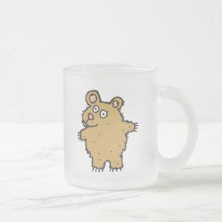 silly cartoon bear mug