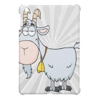 silly cartoon billy goat iPad mini cover