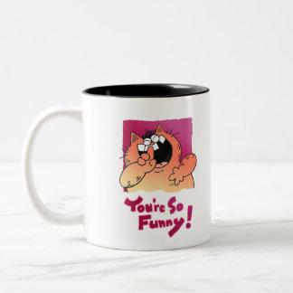 Silly Cartoon Cat | Silly LOL Cat Mug