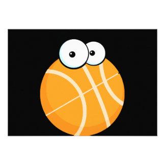 silly cartoon character basketball sports cartoon custom announcements