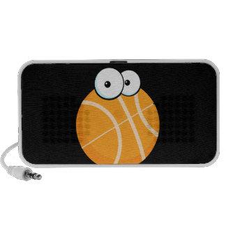 silly cartoon character basketball sports cartoon laptop speaker
