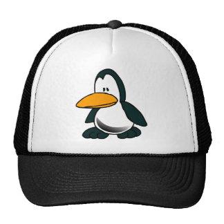 Silly Cartoon Penguin Trucker Hat