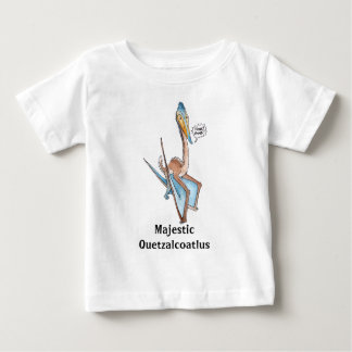 Silly Cartoon Quetzalcoatlus Pterosaur Tshirts