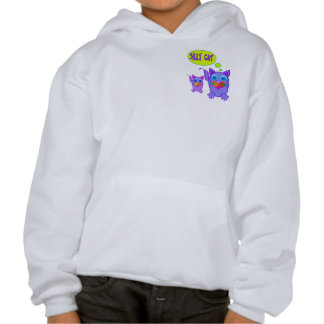 Silly Cat Says 2-Sided Kids' Sweatshirts