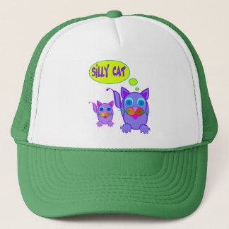 Silly Cat Says Hats