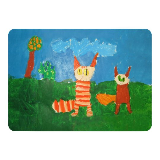Silly Cats Card