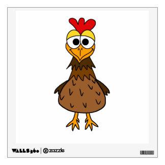 Silly Chicken Wall Sticker