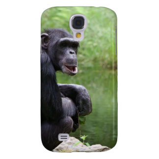 Silly Chimpanzee Galaxy S4 Covers