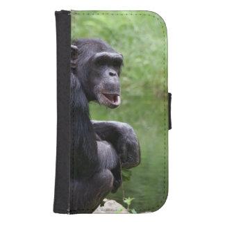 Silly Chimpanzee Galaxy S4 Wallet
