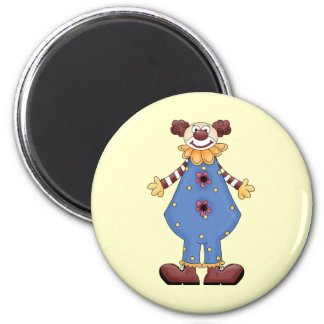 Silly Circus Clown Refrigerator Magnets