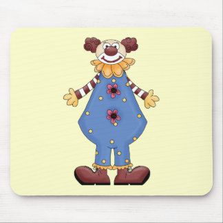 Silly Circus Clown Mouse Pad