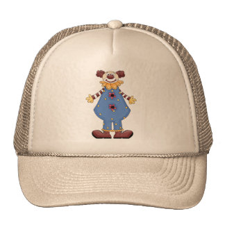 Silly Circus Clown Trucker Hat