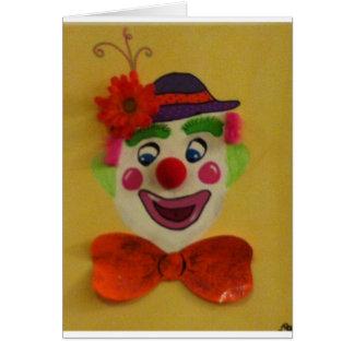 Silly Clown Card